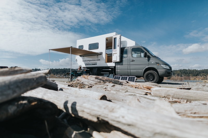 DIY truck camper kit