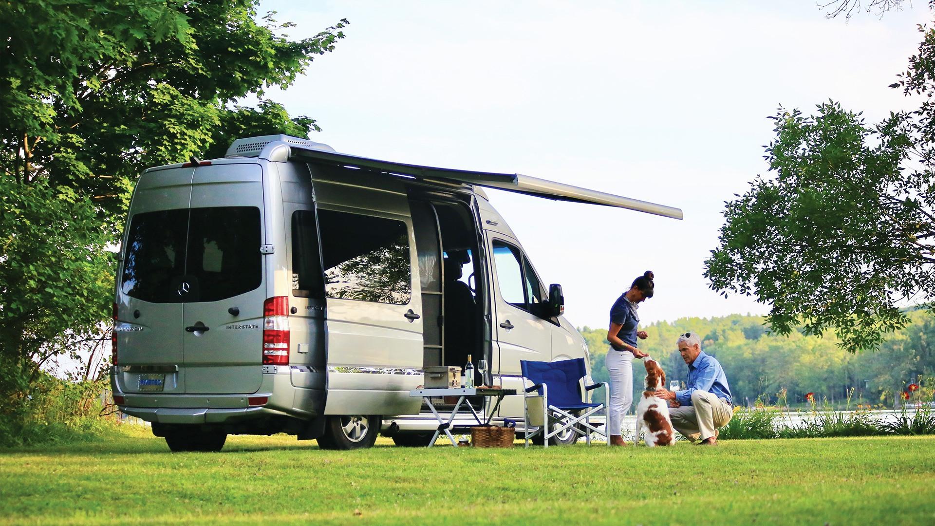 Airstream Interstate Nineteen Mercedes Sprinter touring coach