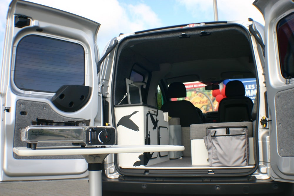 Flexcamper Fiat Fiorino-based single camper van