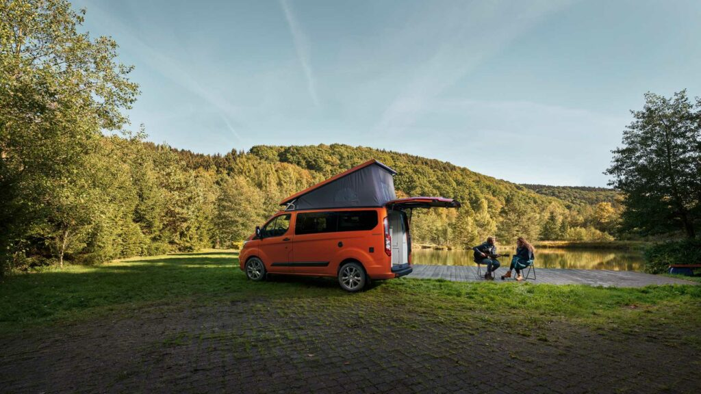 Ford Transit Custom Nugget Campervan by Westfalia