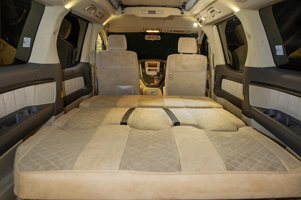 Campervan Co Eco Explorer Tribrid Hybrid camper van based on Toyota Alphard