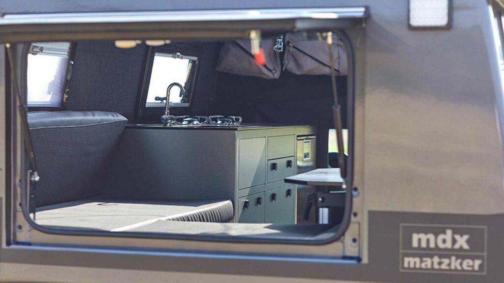 Mercedes-Benz X-Class MDX camper by Matzker