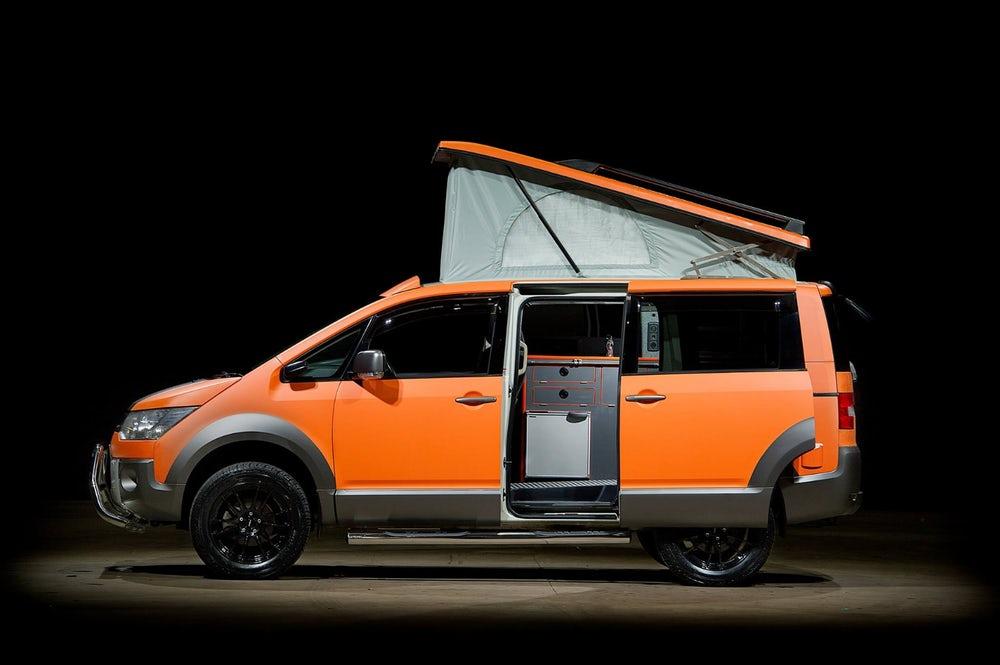 Mitsubishi Delica D:5 terrain 4x4 campervan