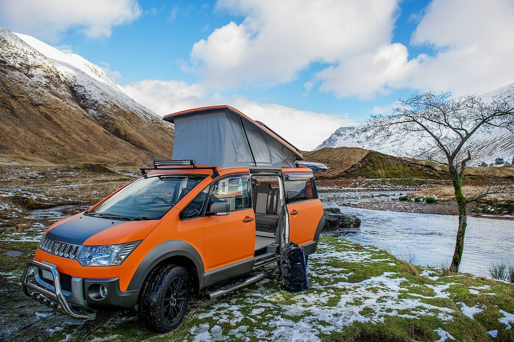 Mitsubishi Delica-Based D:5 Campervan Takes On Every