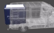 PlugVan expandable camping module