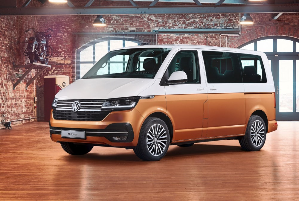 Volkswagen T6.1 Bulli Multivan Electric Update