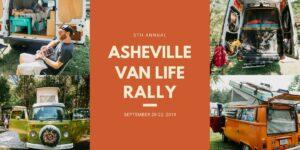 Ashville van life rally 2019