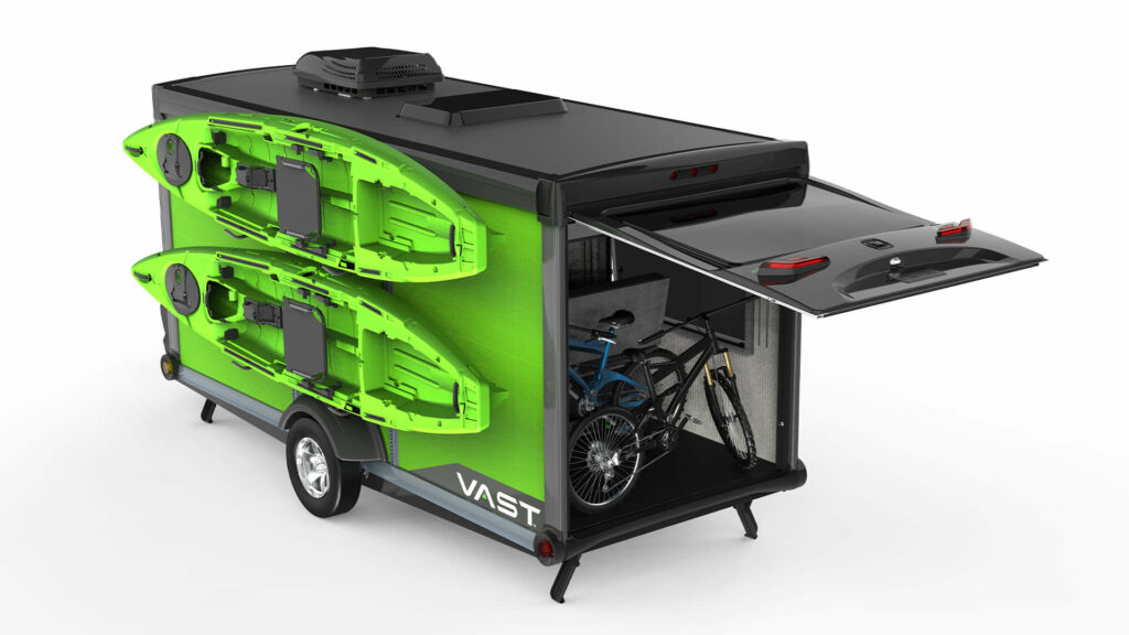 SylvanSport's VAST camping trailer