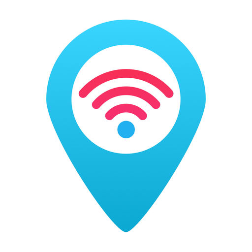 WiFi Finder app logo for Top Vanlife Apps