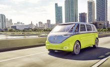 VolkswagenID Buzz electric self driving AR camper van
