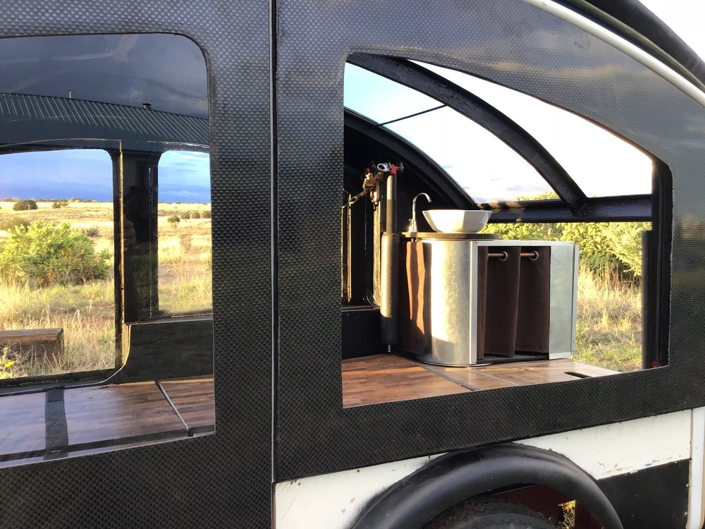 Earth Traveler tear drop camping trailer T250LX T300