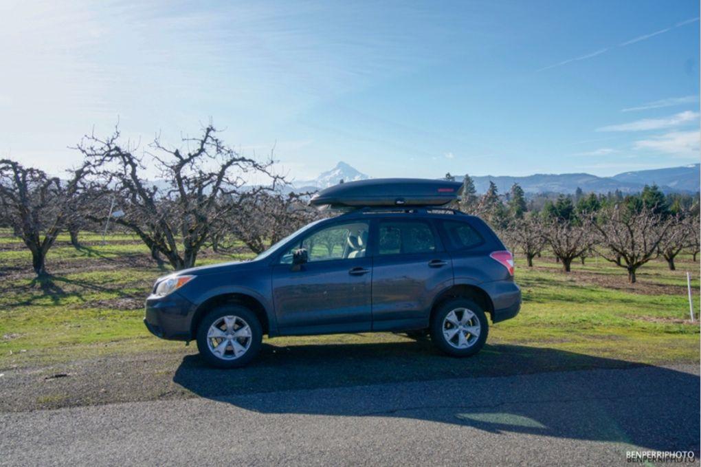 Subaru camper