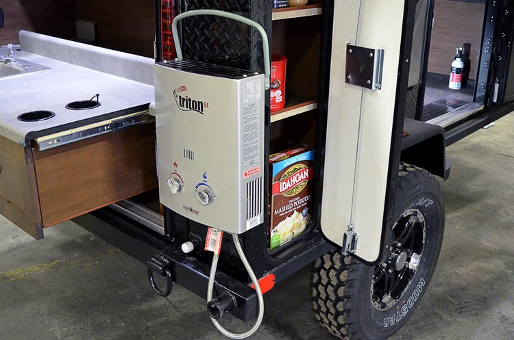 Three Feathers Manufacturing Trail Head off road camping trailer