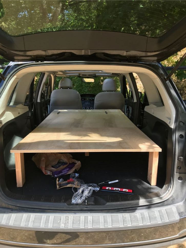 suv sleeping platform
