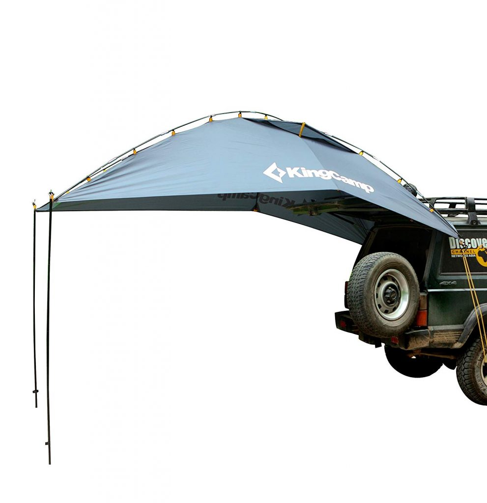 KingCamp tailgate awning for camper van