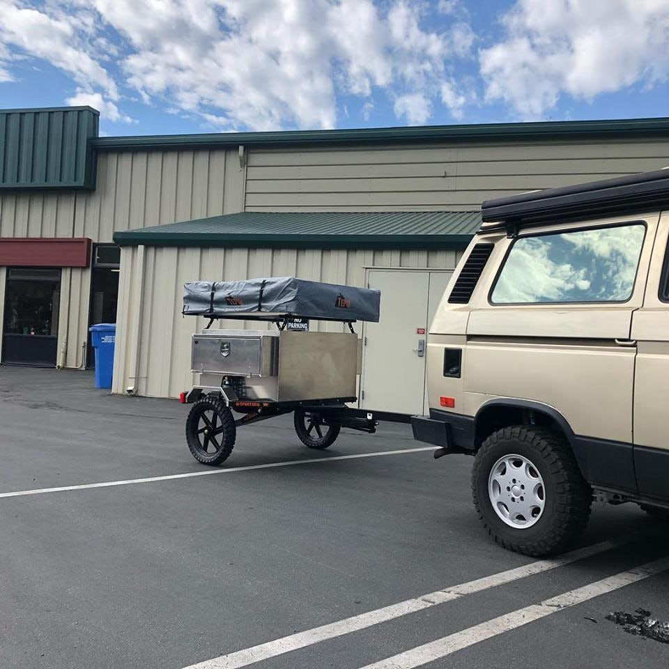 SportsRig TrailerStomper micro camping trailer