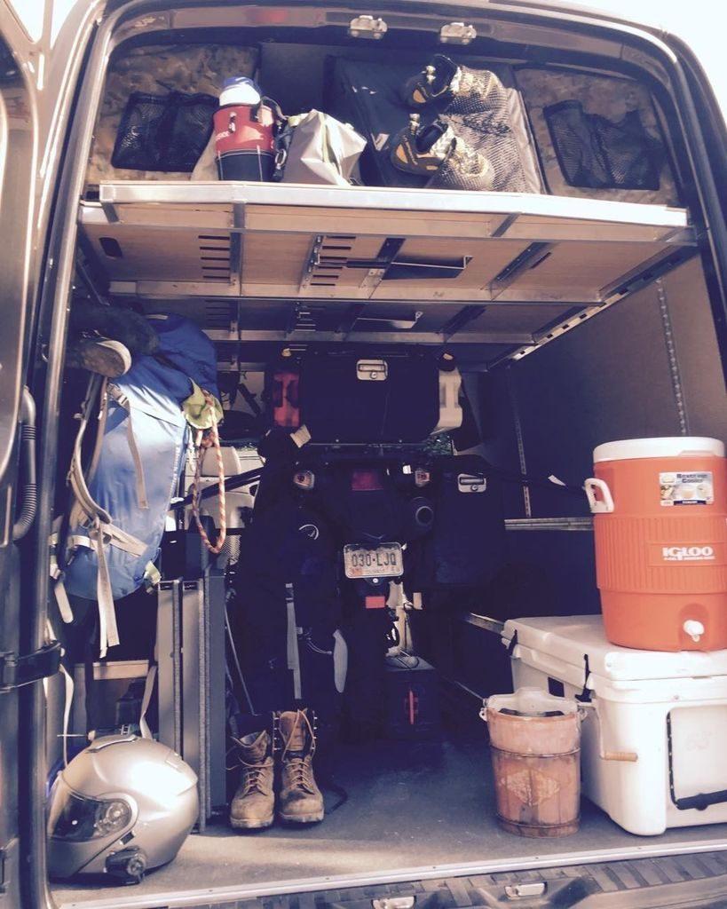 AdventureWagon DIY conversion kit for Merecedes Sprinter van