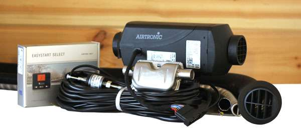 Eberspacher Espar D2 AirTronic for Best Camper Van Heaters