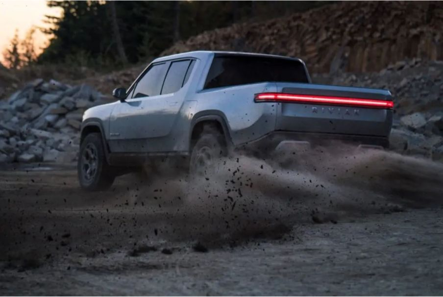 Rivian RT1 Electric Adventure Vehicle truck camper 2