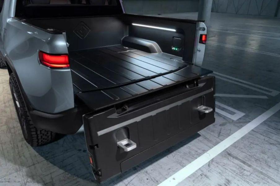 rivian truck bed