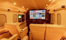 Lexani G:77 Sky Master luxury mobile office transporter
