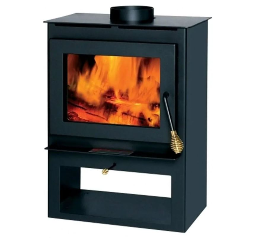 England's Stove Works Summer Heat Tranquility wood stove burner heater