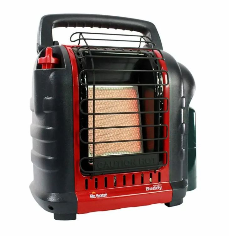 Mr. Heater Buddy propane van heater