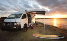 Toyota Hiace Commuter 4x4 camper conversion by Bus 4x4 Australia