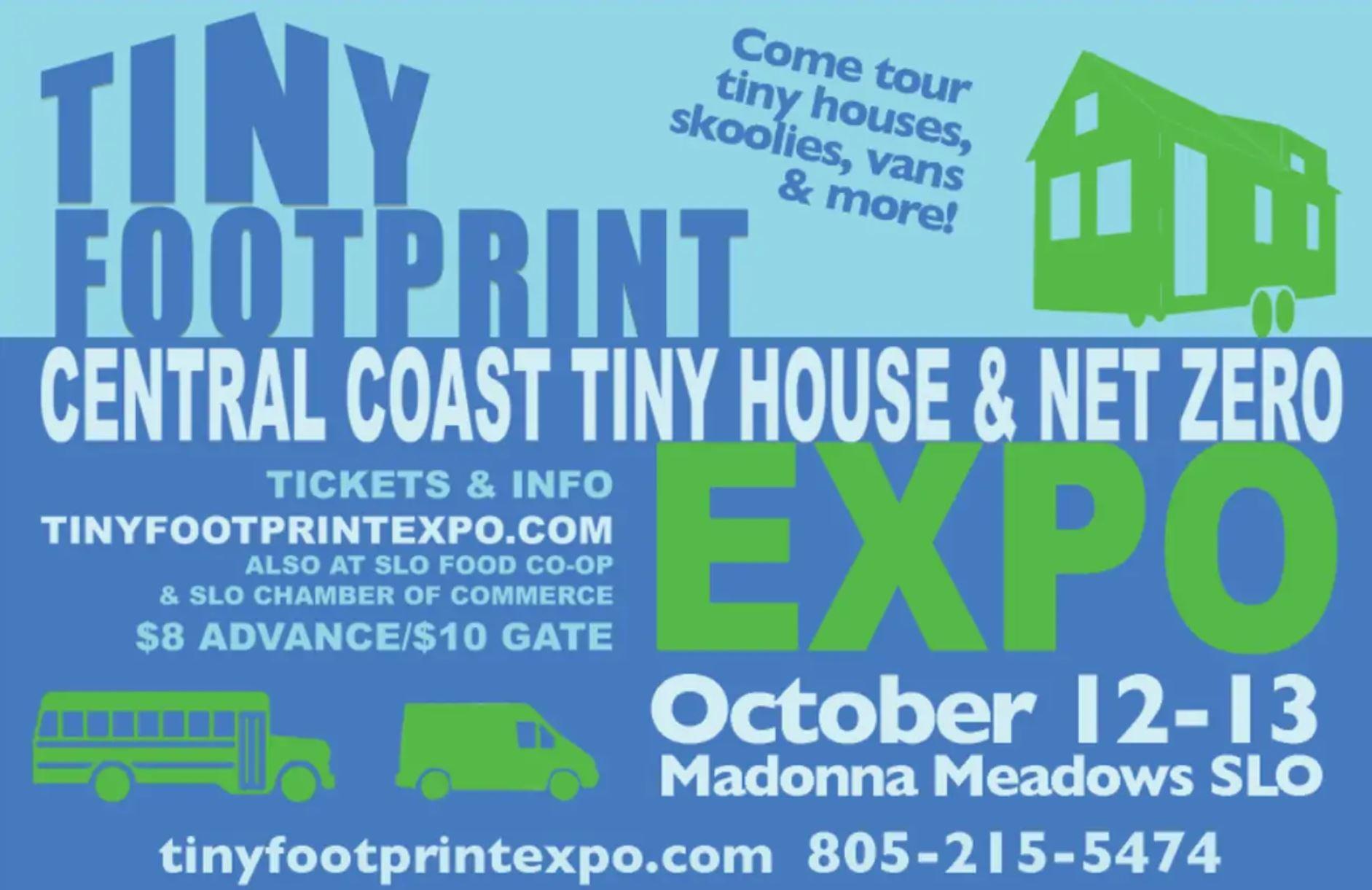 tiny footprint tiny house expo