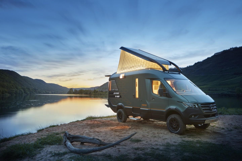 Hymer Mercedes Sprinter VisionVenture concept camper van