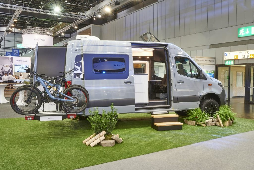 Westfalia James Cook expandable off road camper van conversions