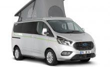 Dethleffs Globevan e.Hybrid Ford Transit PHEV-based electric camper van