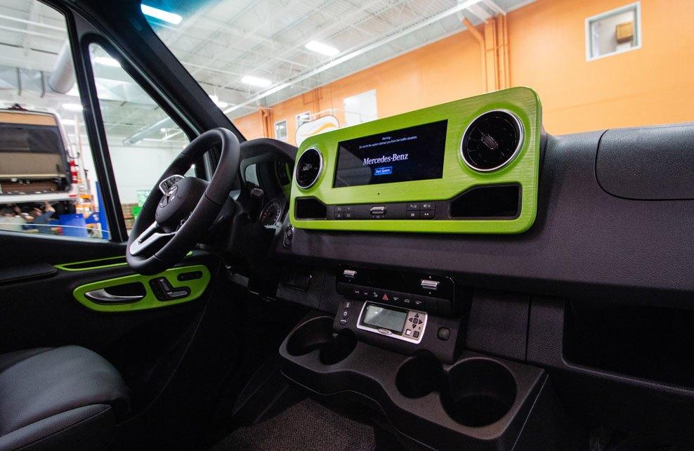 Advanced RV Baja Mercedes Sprinter green van conversion