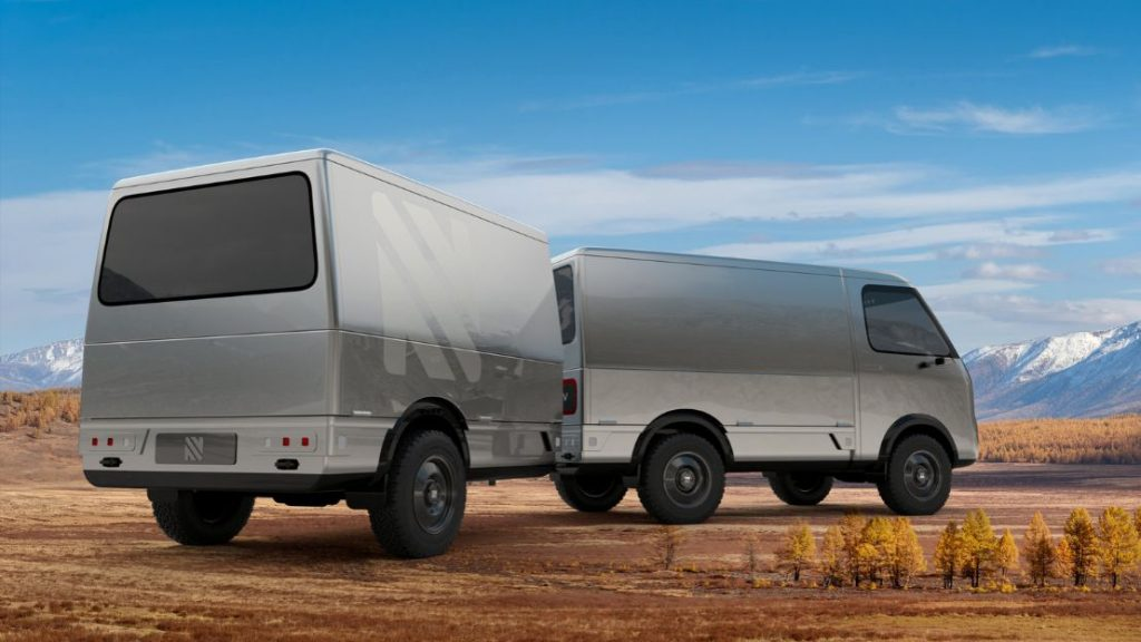 Neuron EV STAR electric autonomous camper