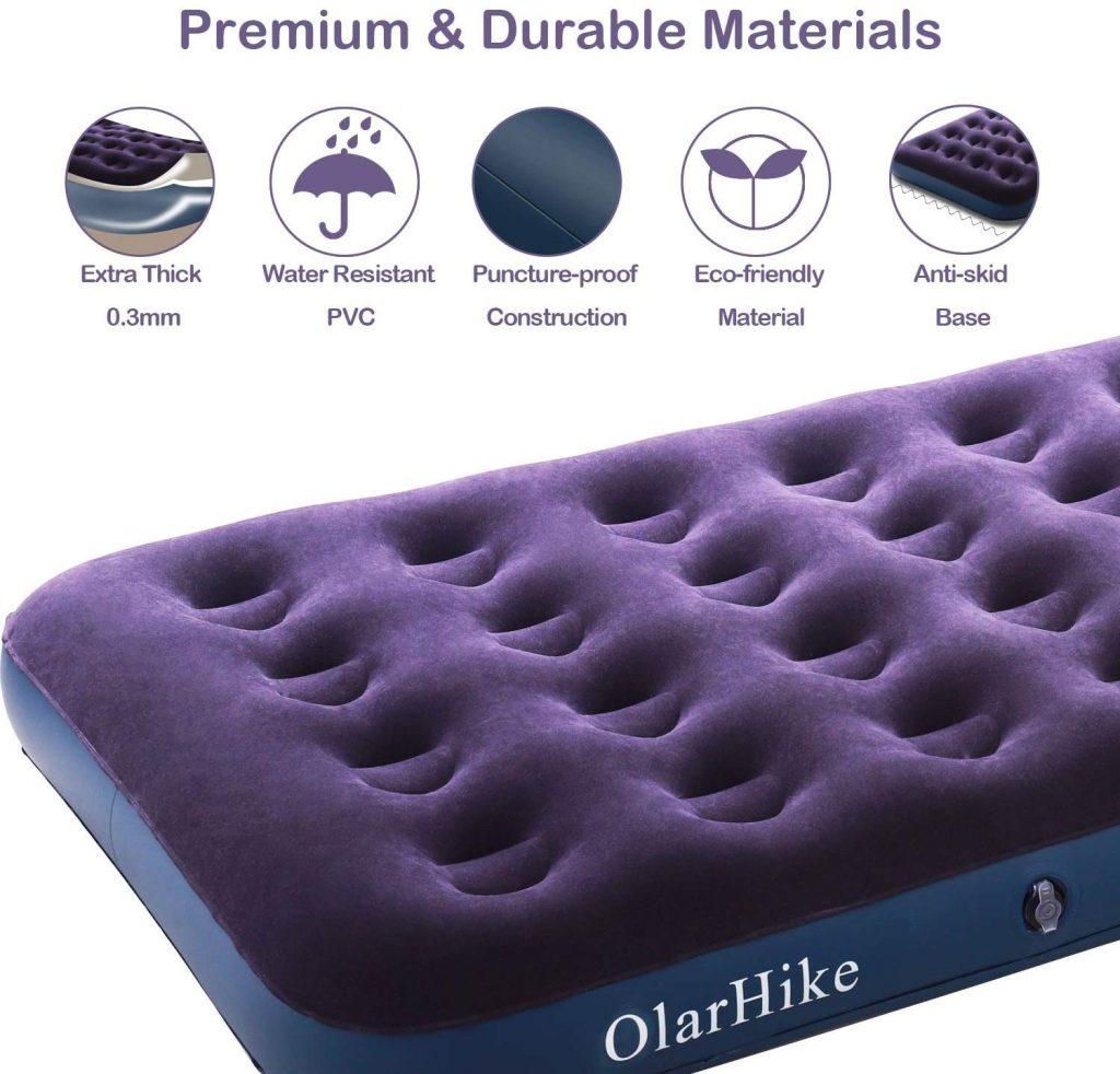 OlarHike camper RV air mattress for best camper van mattresses