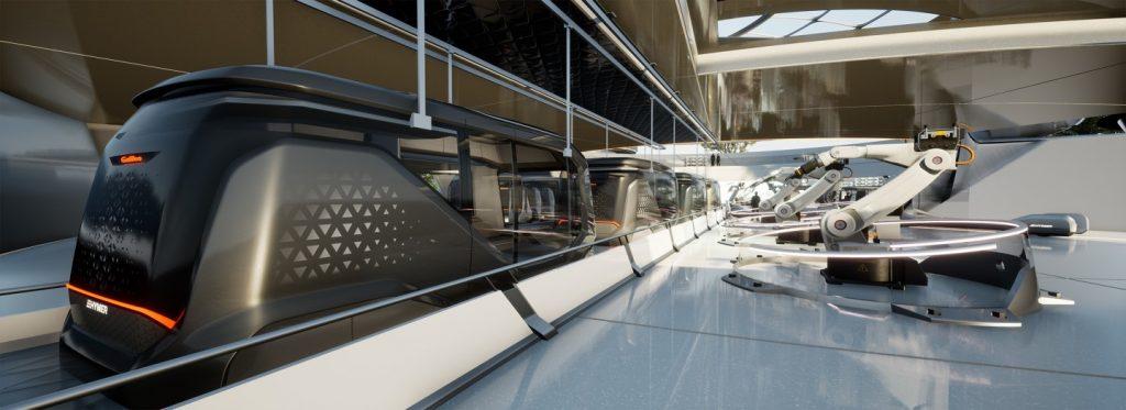 Erwin Hymer Galileo autonomous camper van concept