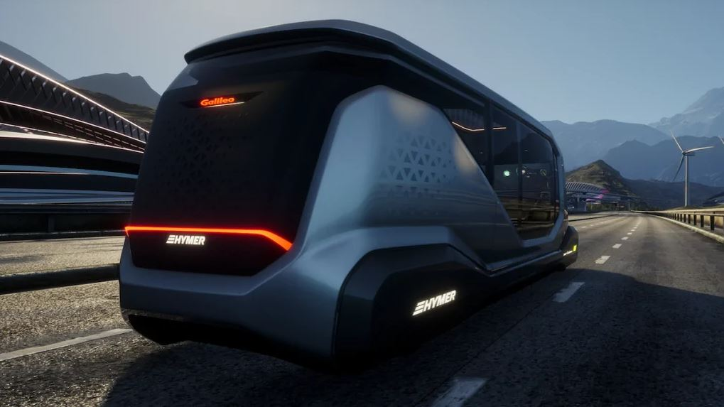 Erwin Hymer Galileo autonomous camper van concept 3
