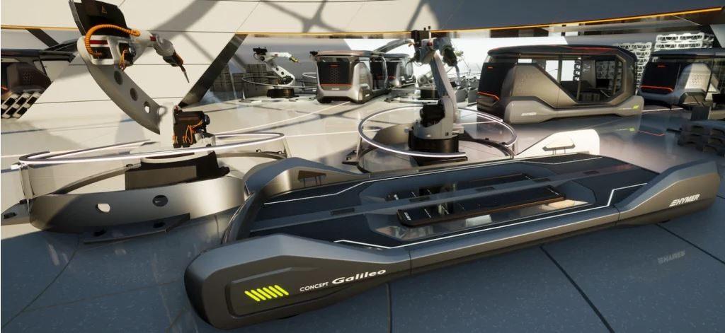 Erwin Hymer Galileo autonomous camper van concept 4