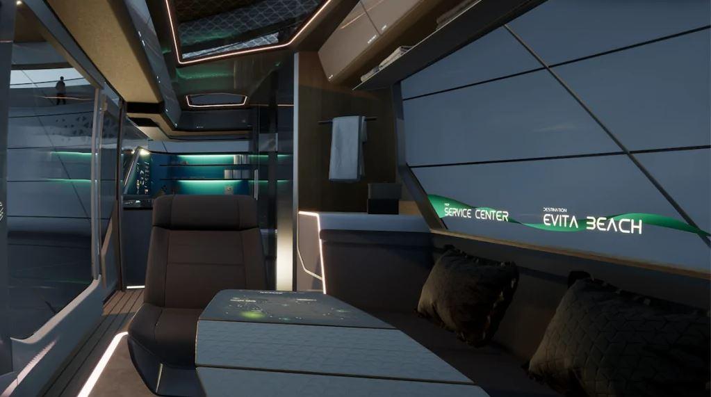 Erwin Hymer Galileo autonomous camper van concept 5