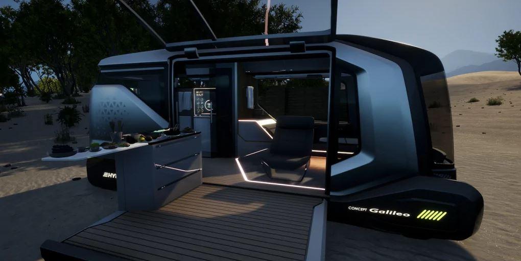 Erwin Hymer Galileo autonomous camper van concept 8