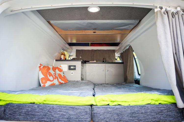 Kuga Campervan Bottom bunk Bed