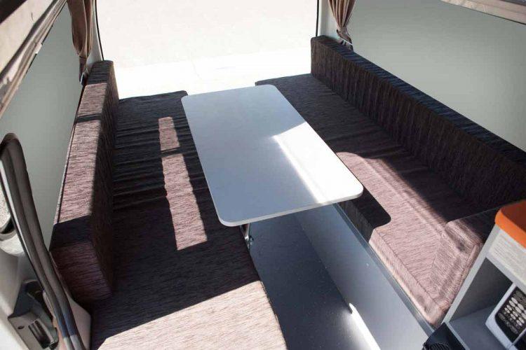 Kuga Campervan Seating Area