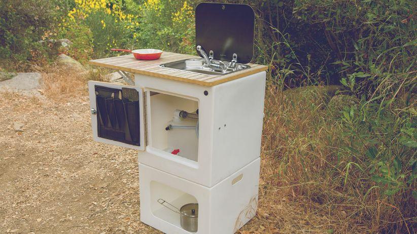 Happier Camper Adaptiv modular van conversion kit