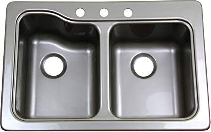 Lippert Better Bath double Sink for Best Camper Van Sink Options