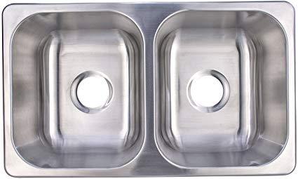Recpro double Sink for Best Camper Van Sink Options
