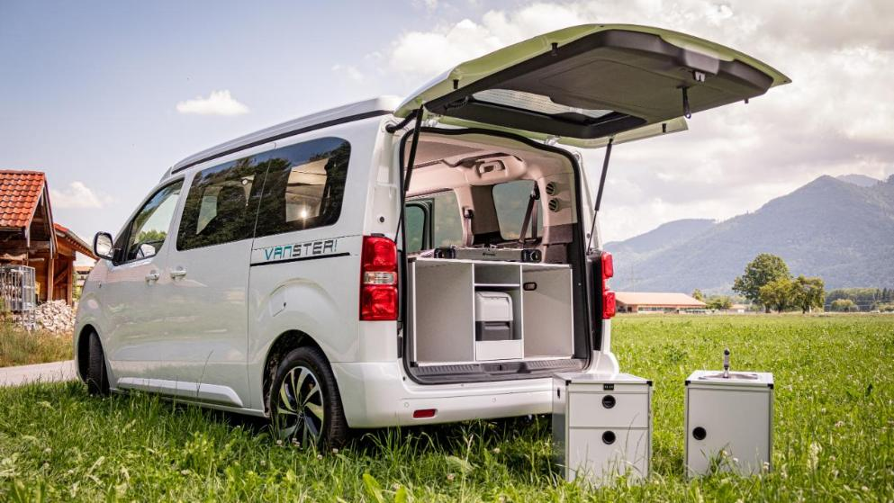 Possl Vanster modular Citroen Jumpy SpaceTourer camper van