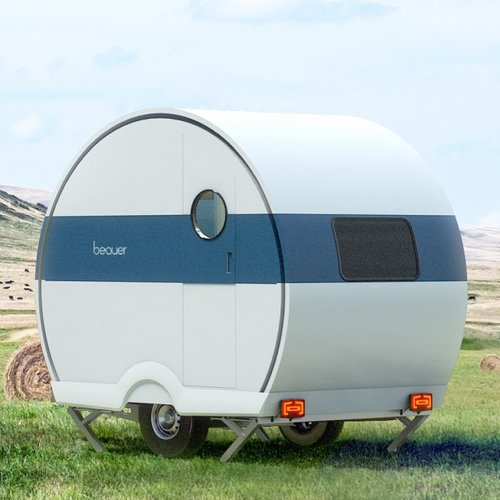 BeauEr 2x expanding two person camping trailer