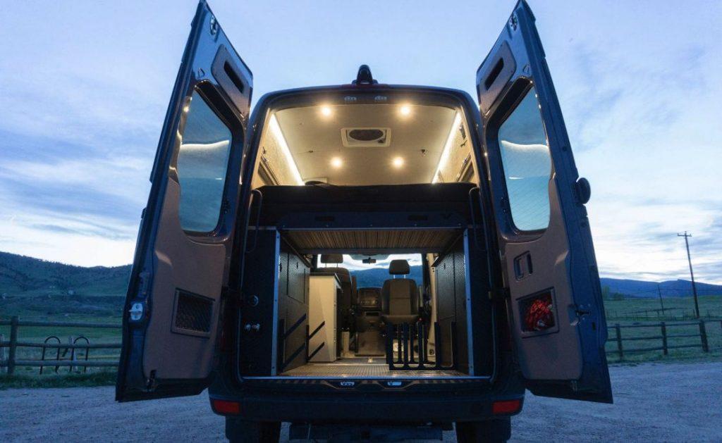 Titan Vans Surfer Skier conversion package