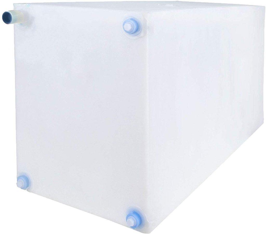 RecPro 42 gallon fresh water tank under camper van water tanks