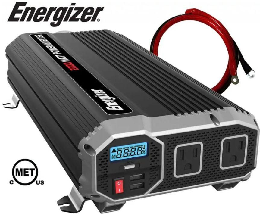 ENERGIZER 2000W power inverter for best camper van invertersKreiger 1100W power inverter